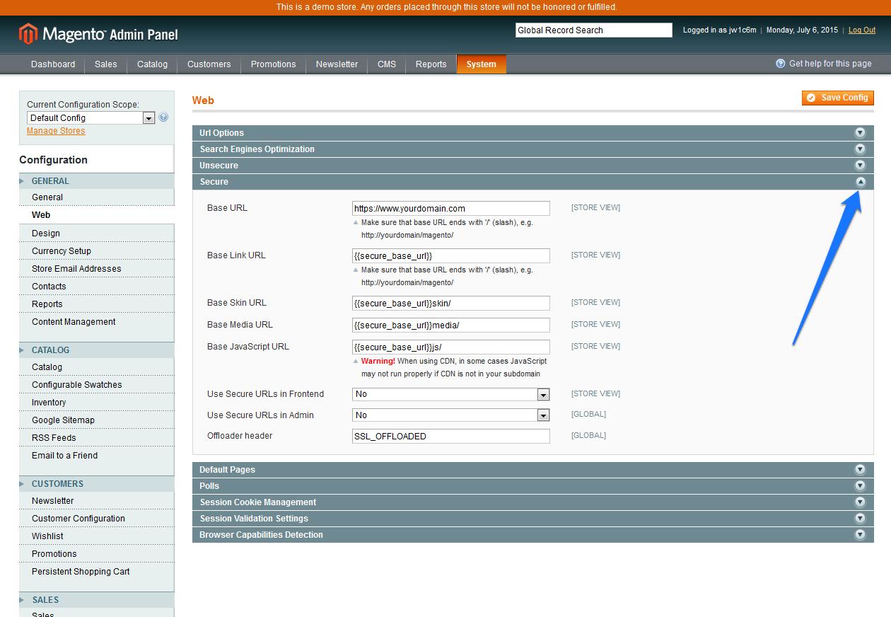 CDN Magento SSL 3B