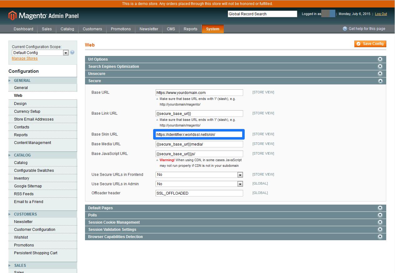 CDN Magento SSL 6
