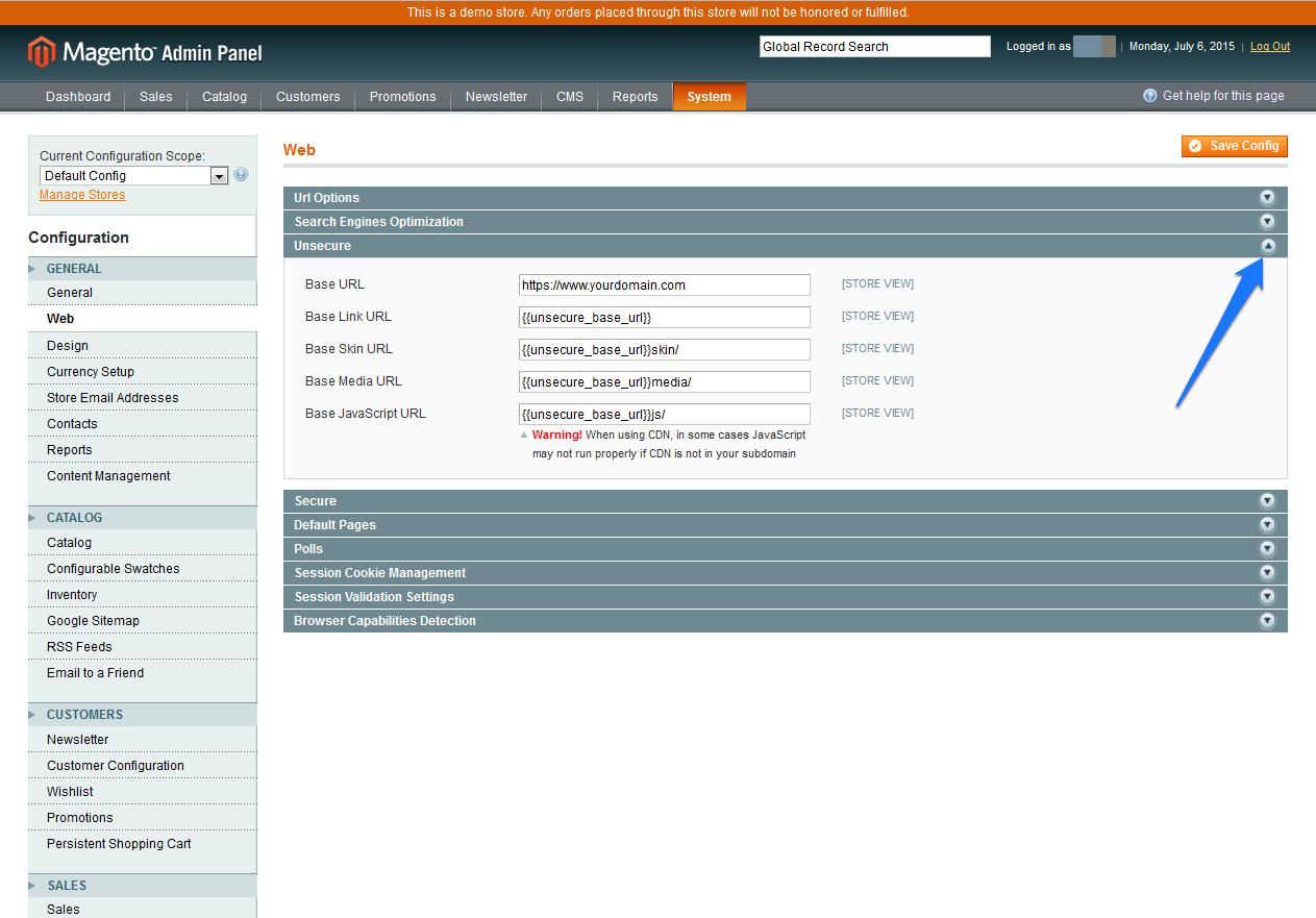 CDN Magento SSL 9