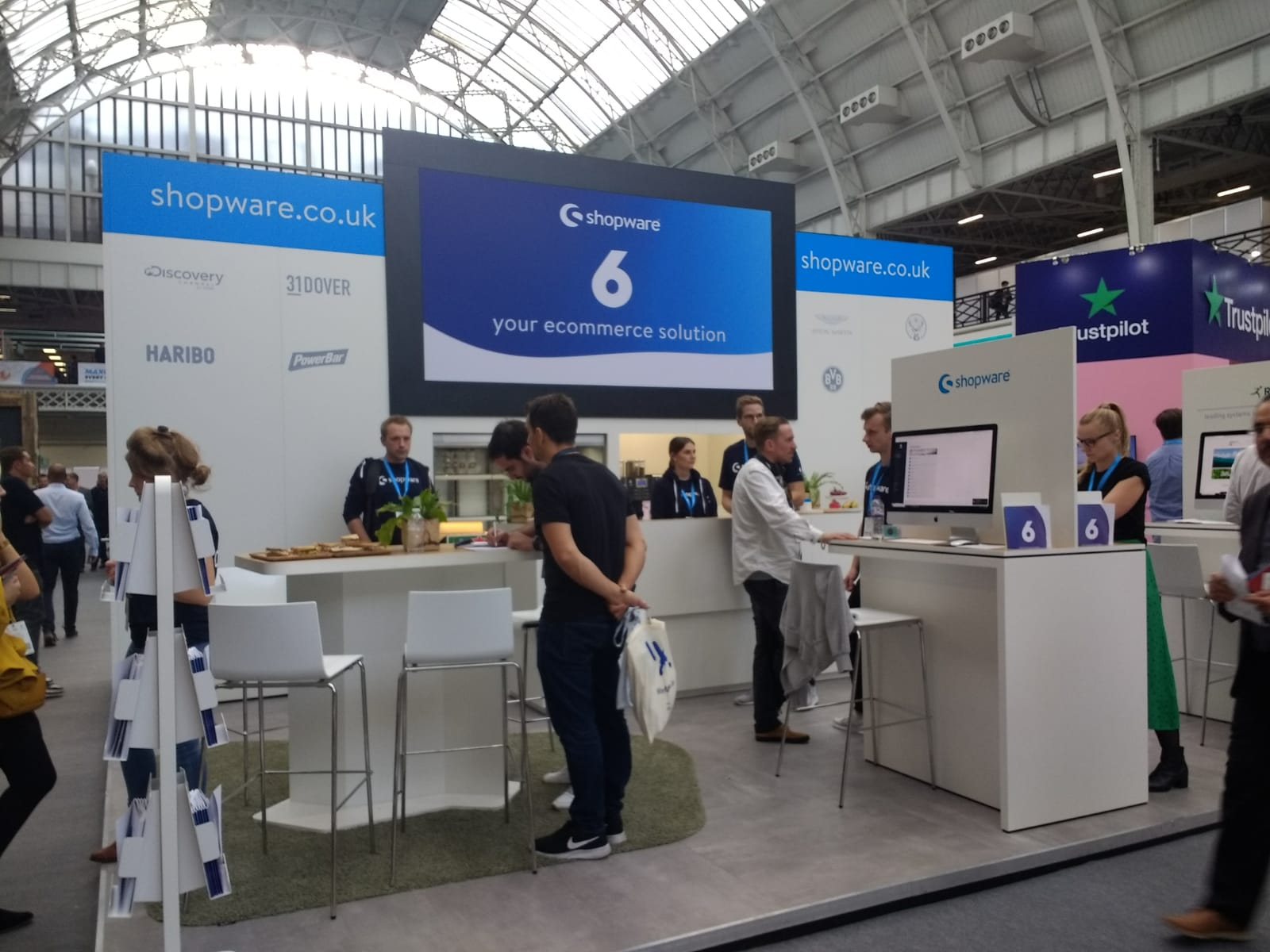 We attended eCommerce Expo London with partners Shopware!