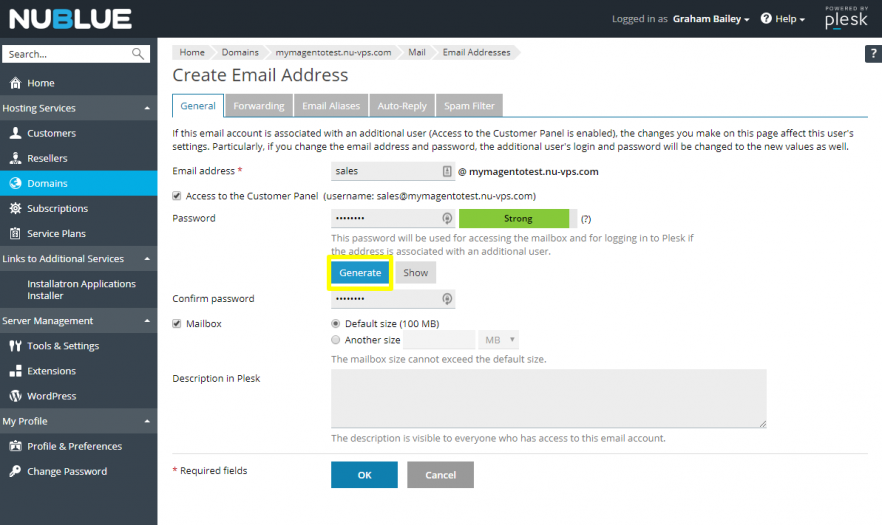 How to add a new email account   Nublue