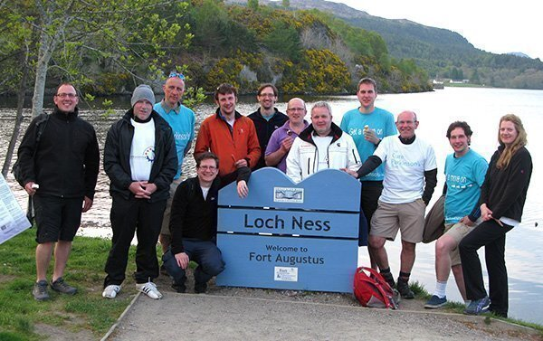 The team at Loch Ness